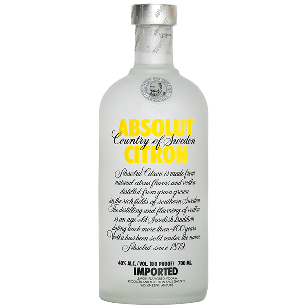 Picture of Absolut Citron, 70cl
