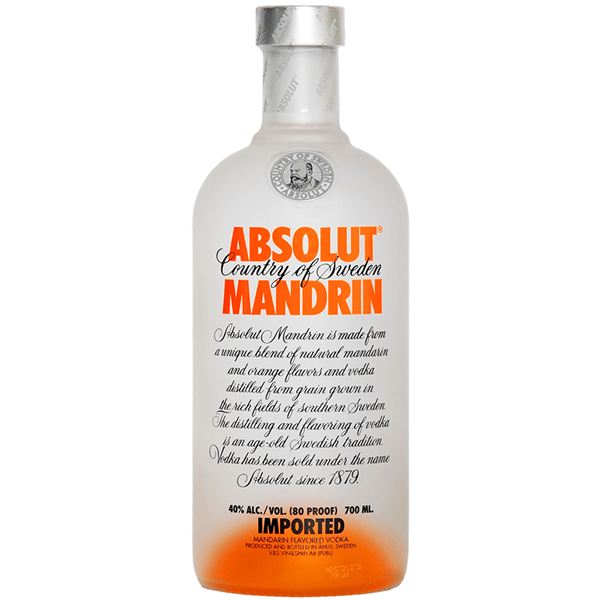 Picture of Absolut Mandarin, 70cl