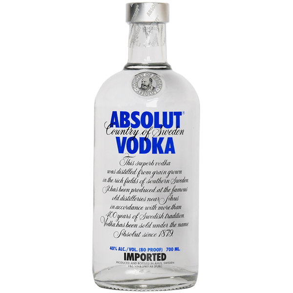 Picture of Absolut Vodka, 70cl