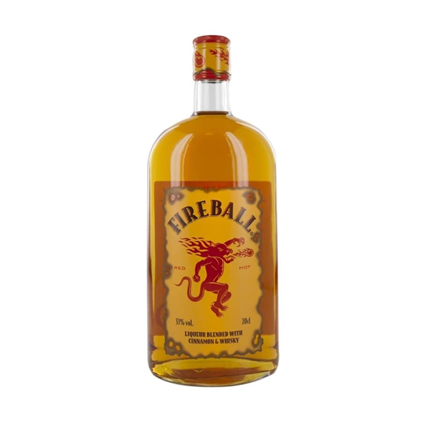 Picture of Fireball Cinnamon Whiskey, 70cl