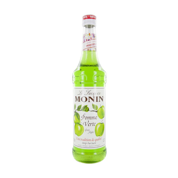 Picture of Monin Green Apple Syrup  ( pomme vert) , 70cl