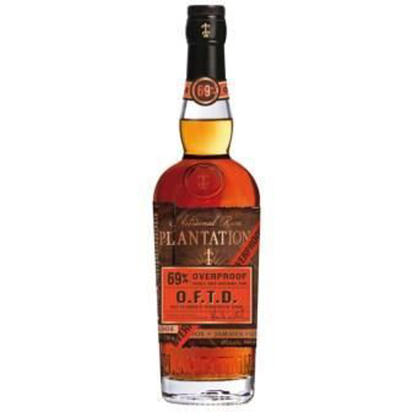 Picture of Plantation OFTD overproof rum 69%, 70cl