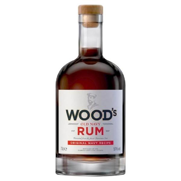 Picture of Woods 100 Navy overproof rum, 70cl