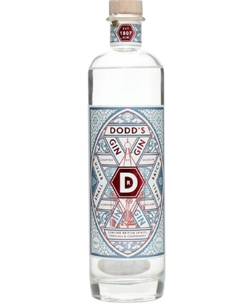 Picture of Dodds Gin Small Batch, 50cl