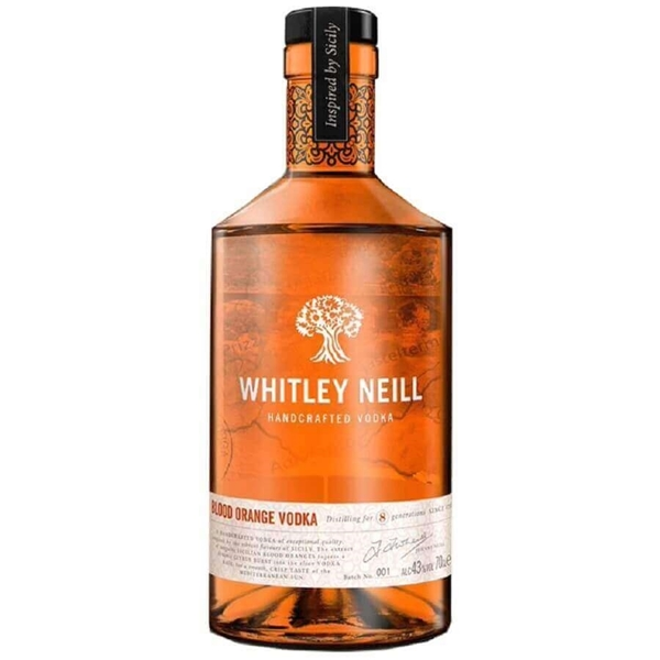 Picture of Whitley Neill Blood Orange Vodka, 70cl