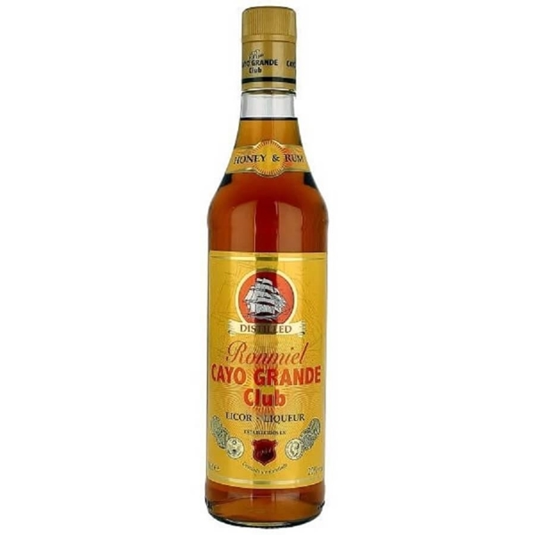 Picture of Cayo Grande Honey Rum , 70cl