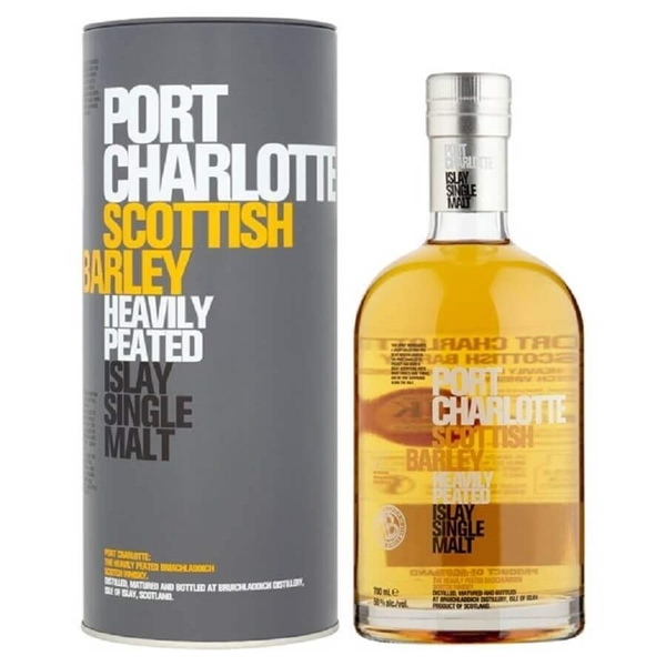 Picture of Port Charlotte Barley  Heavily Peated , 70cl