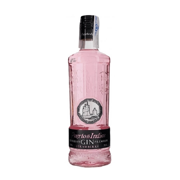 Picture of Puerto De Indias Strawberry Gin, 70cl
