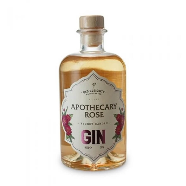 Picture of old curiosity apothecary rose gin, 50cl
