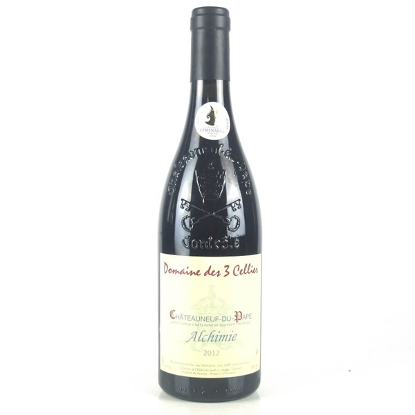 Picture of Alchimie Chateuneuf du Pape Rhone , 75cl