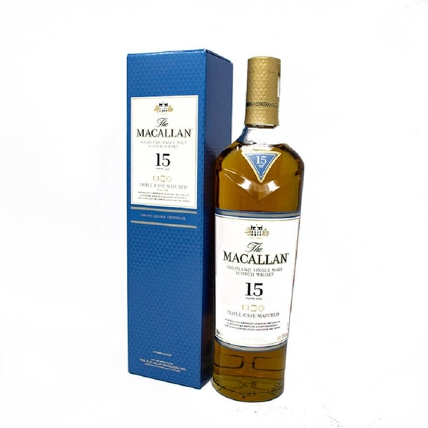 Picture of Macallan  15yr Triple  Cask, 70cl