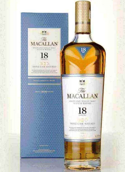Picture of Macallan  18 yr Triple  Cask, 70cl * one per customer