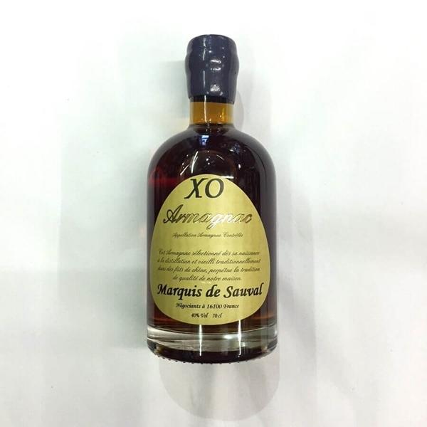 Picture of Marquis de Sauval Armagnac  XO , 70cl