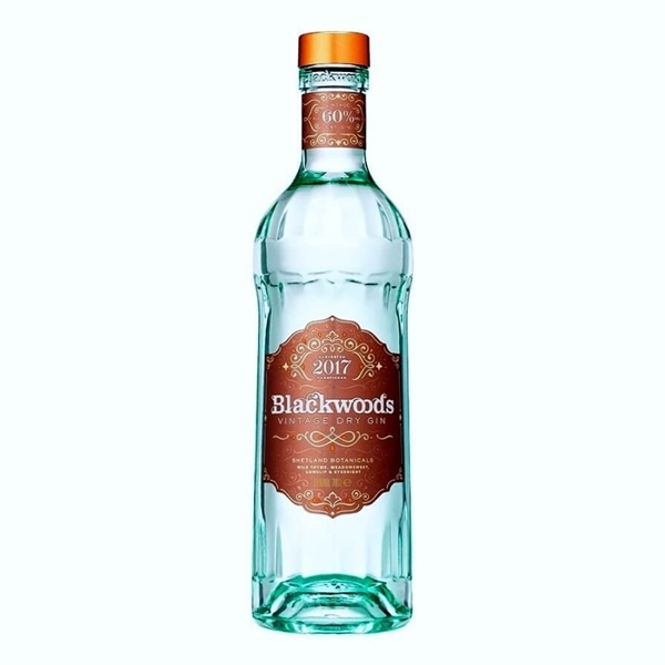 Picture of Blackwoods Vintage Dry  Gin 60%, 70cl