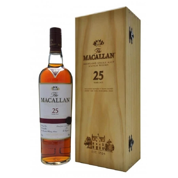 Picture of Macallan 25yr Sherry Cask , 70cl * one per customer