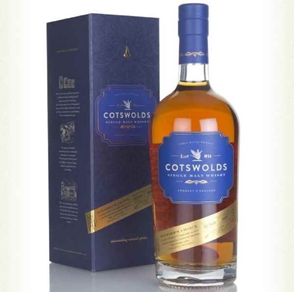 Picture of Cotswolds English Single Malt Founders Choice , 70cl