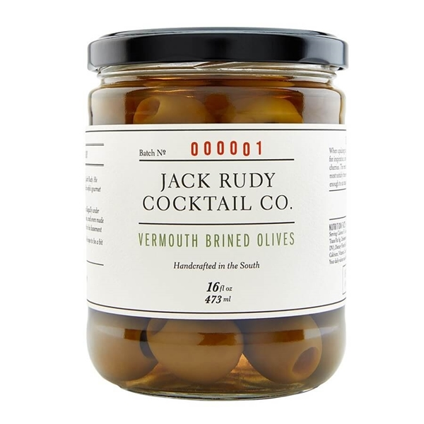 Picture of Jack Rudy Vermouth Brined Olives , 473ml