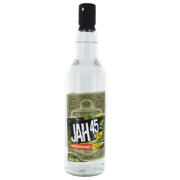 Picture of Jah 45 Overproof Rum, 70cl