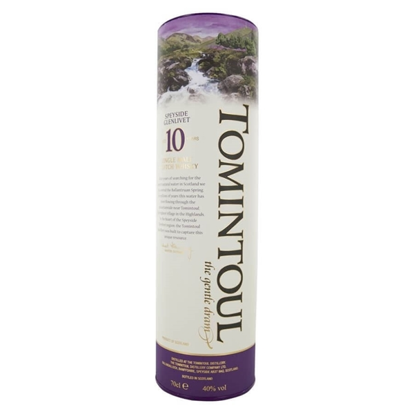 Picture of Tomintoul 10 Gentle Speyside, 35cl