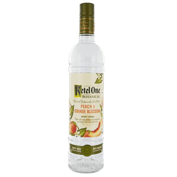 Picture of Ketel One Peach & Orange Blossom Botanical Vodka 70cl