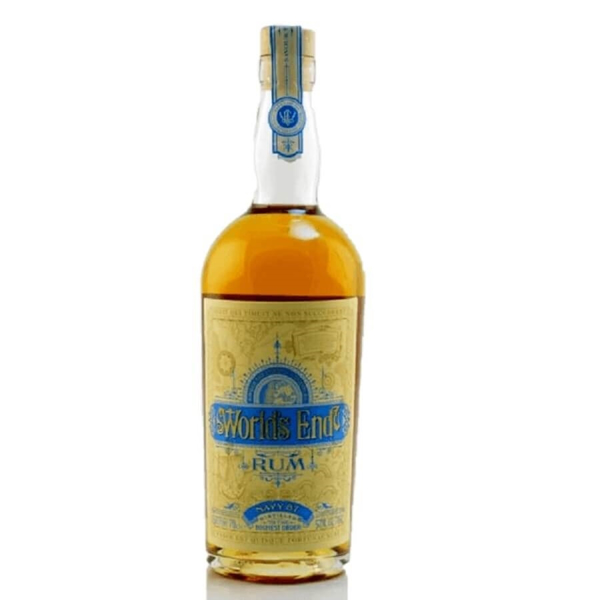 Picture of Worlds End Navy overproof Rum 57 %, 70cl