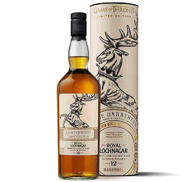 Picture of House Baratheon Royal Lochnagar 12yr  Game of Thrones, 70cl * offer