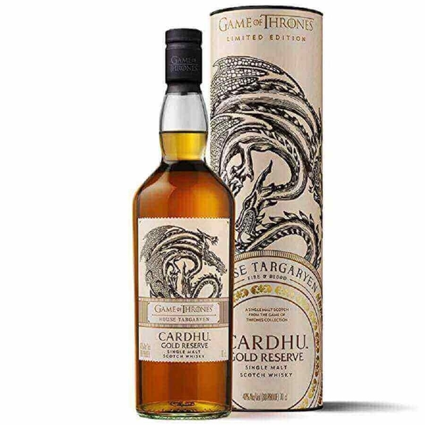 Picture of House Targaryen & Cardhu Game of Thrones, 70cl