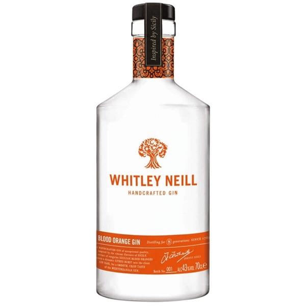 Picture of Whitley Neill Blood Orange Gin, 70cl