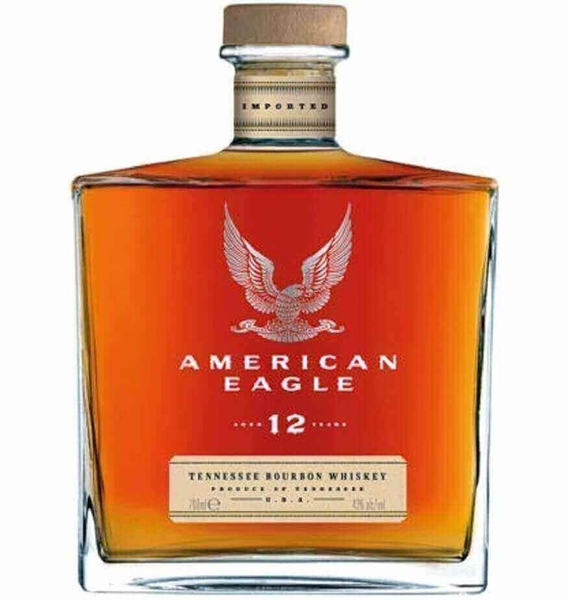Picture of American Eagle 12yr Tennessee Bourbon, 75cl