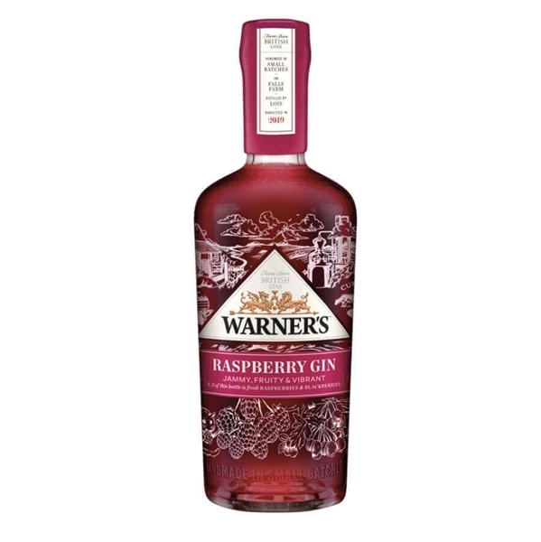 Picture of Warners Raspberry  Gin, 70cl