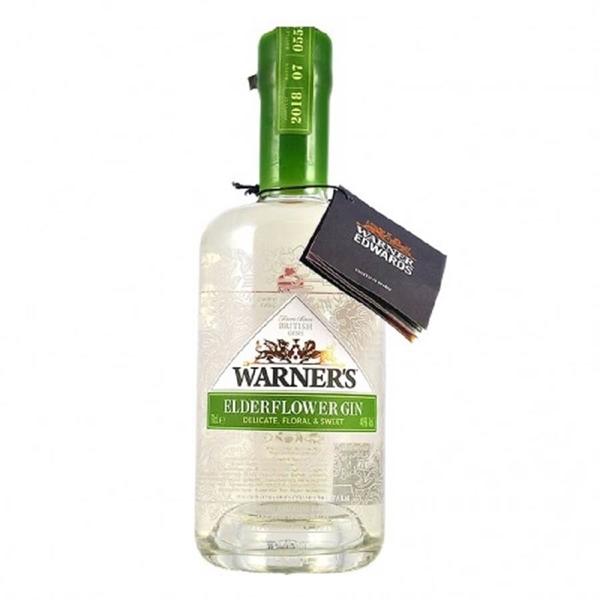 Picture of Warners Elderflower Gin, 70cl