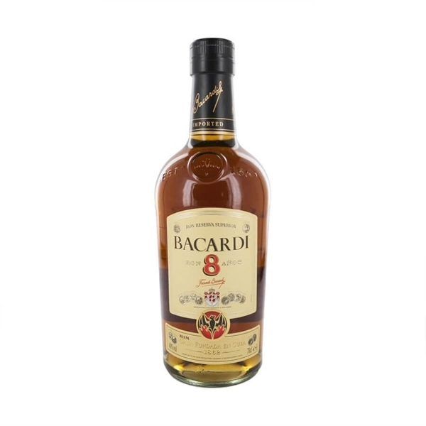 Picture of Bacardi Ocho  8yr, 70cl