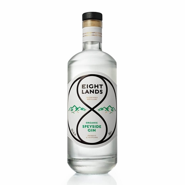 Picture of Eight Lands Speyside Organic Gin, 70cl