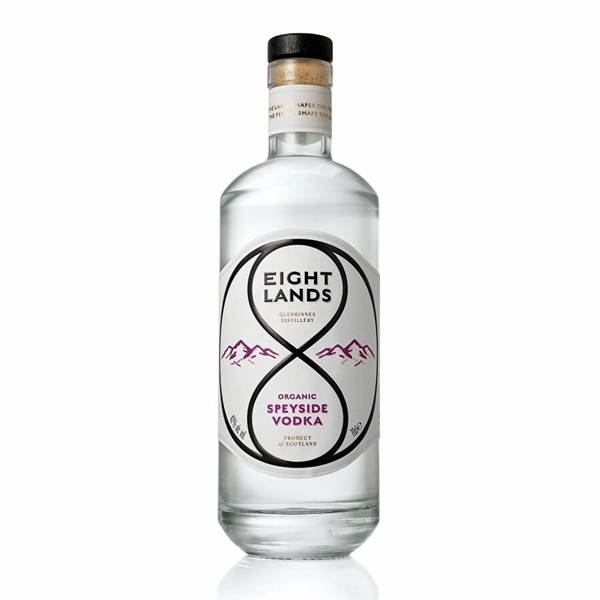 Picture of Eight Lands Speyside Organic Vodka, 70cl