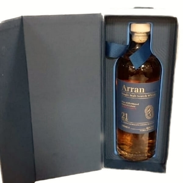 Picture of Arran 21yr Non Chill Filtered, 70cl