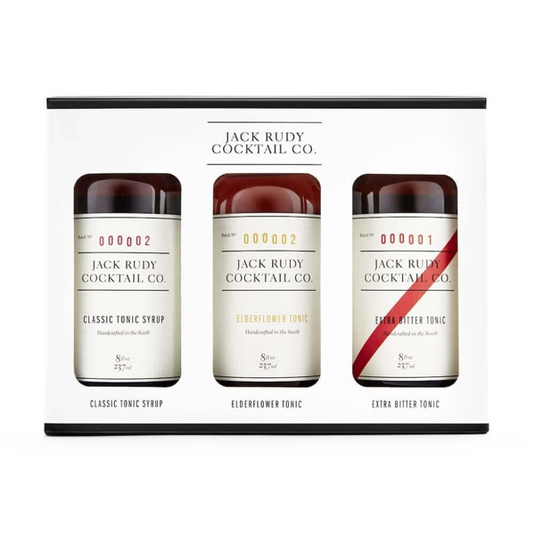 Picture of Jack Rudy Tonic Syrup Trio , 3 x 237ml