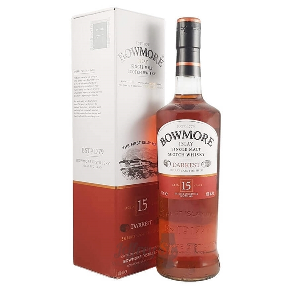 Picture of Bowmore 15yr Islay, 70cl