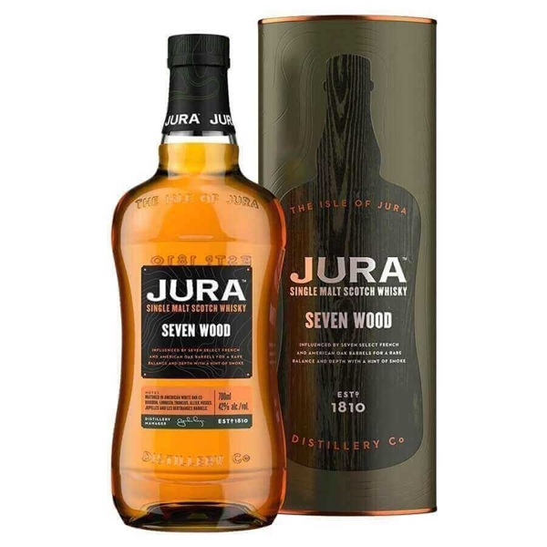Picture of Isle of Jura Seven Woods, 70cl