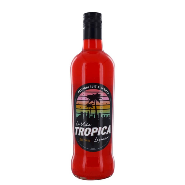 Picture of La Vida Tropica Liqueur, 70cl