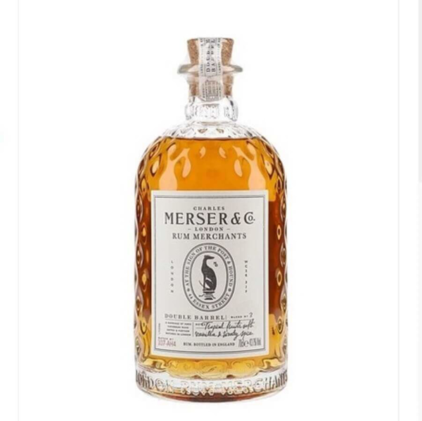 Picture of Mersers Double Barrel Rum , 70cl