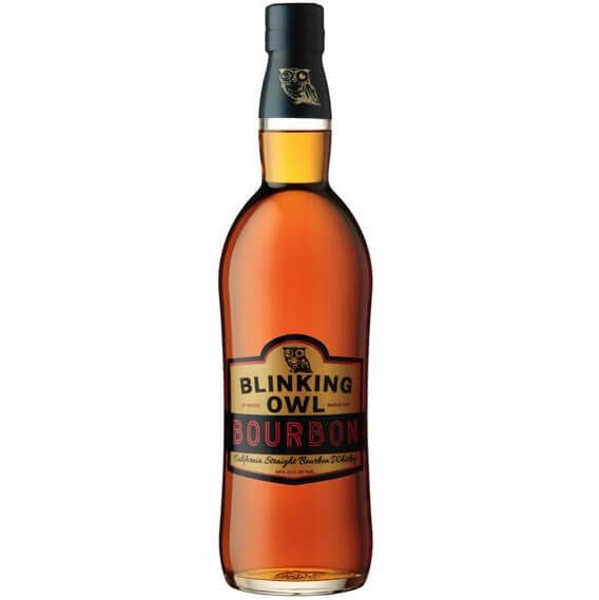 Picture of Blinking Owl California Straight  Bourbon , 75cl