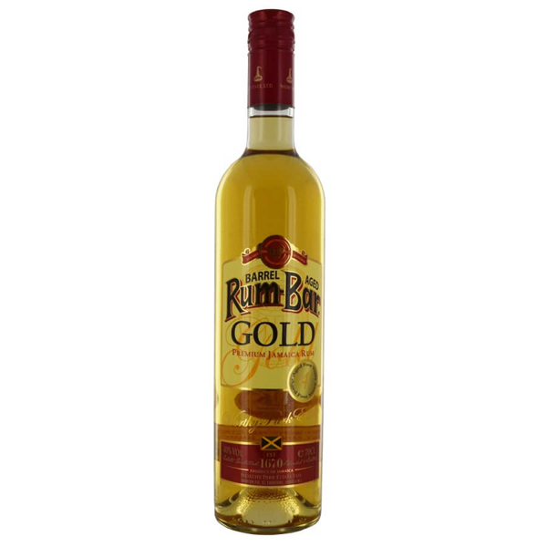 Picture of Rum Bar Gold Jamaica, 70cl