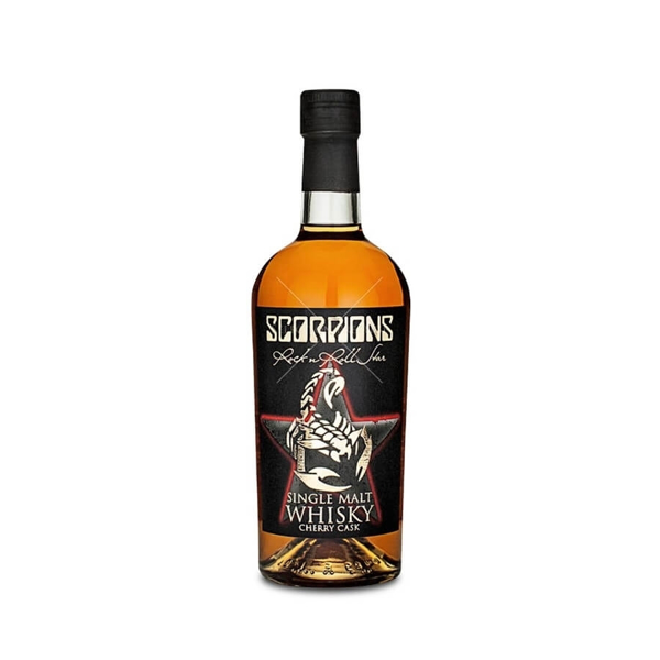 Picture of Scorpions Single Malt Whiskey , 70cl * offer