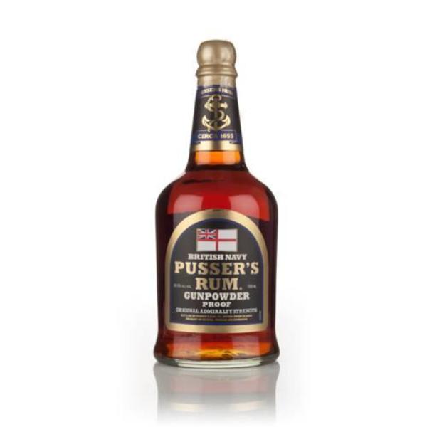 Picture of Pussers Gunpowder Overproof Rum 54.5% , 70cl