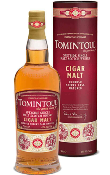 Picture of Tomintoul Cigar Malt , 70cl