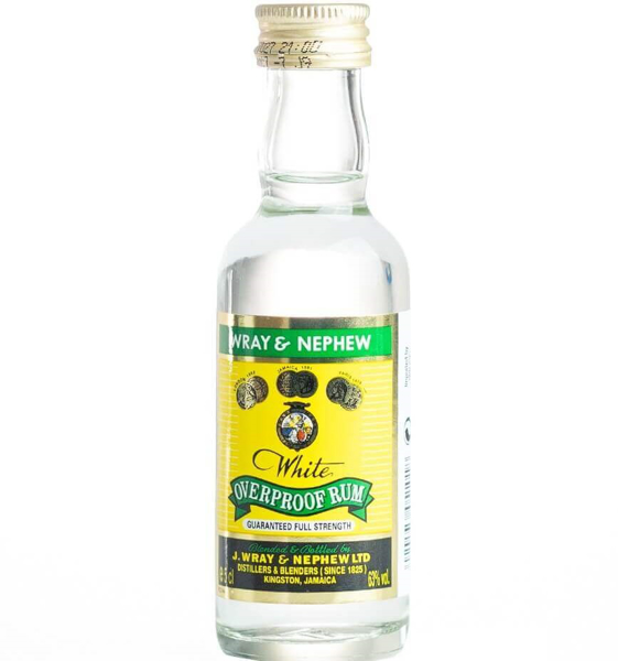 Picture of Wray & Nephew Overproof , 5cl