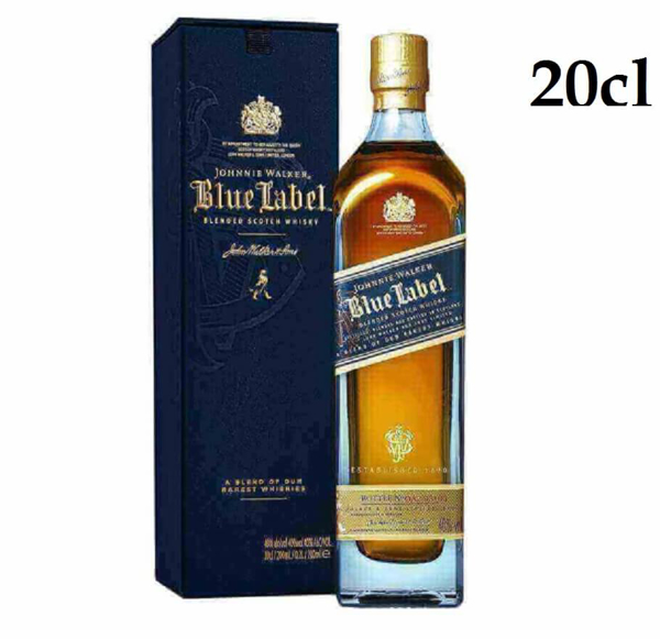 Picture of Johnnie Walker Blue , 20cl * offer