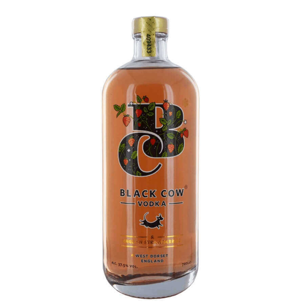 Picture of Black Cow Strawberry  Vodka , 70cl