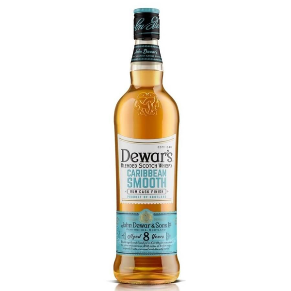 Picture of Dewars 8 yr Caribbean Smooth , 70cl