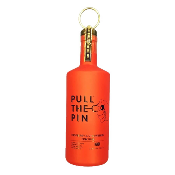 Picture of Pull the Pin Raspberry & Strawberry Rum , 70cl